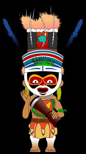Melanesian man