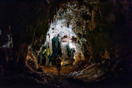 Mangaia caves