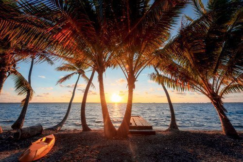 Manihiki sunrise