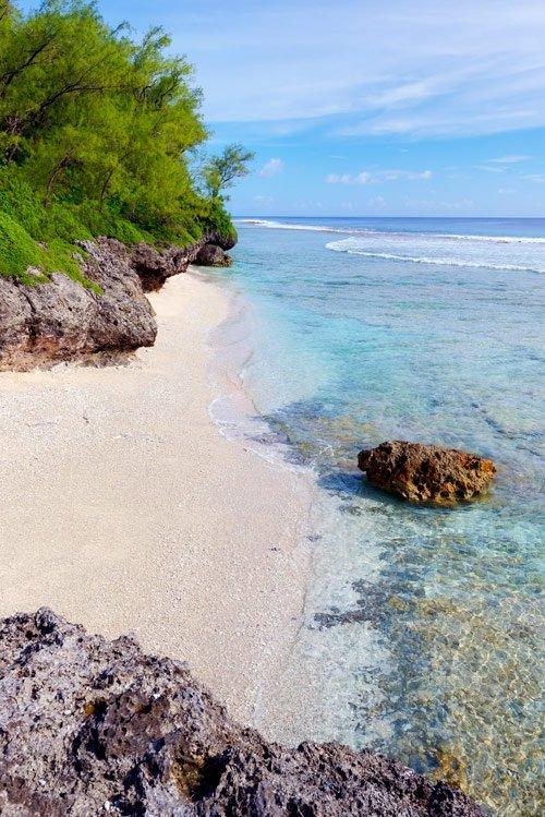 Mauke private beaches