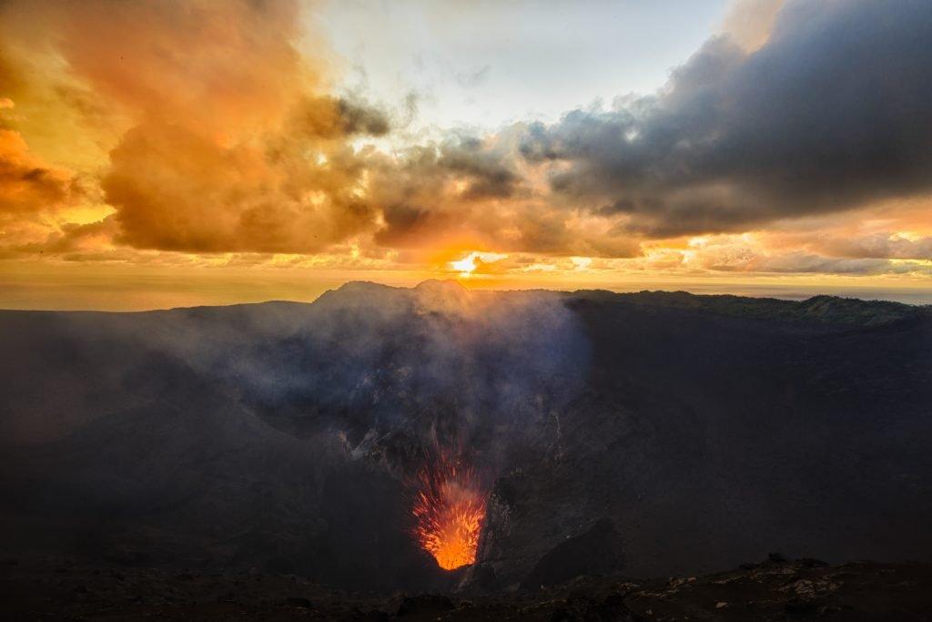 Tanna Yasur volcano
