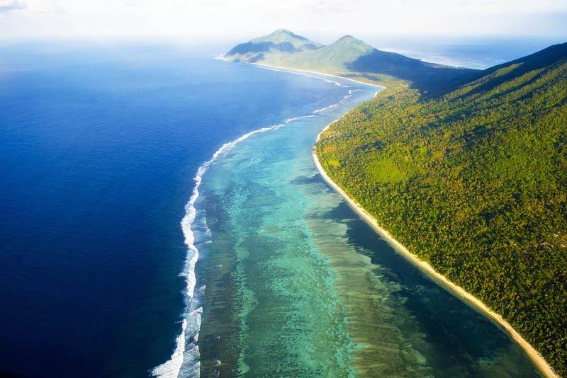 IslandAwe Vanuatu Ambrym Coastline
