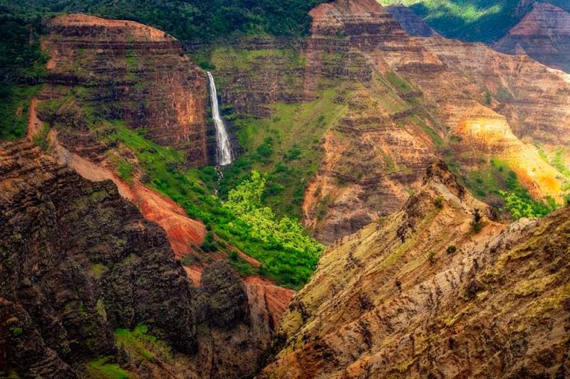 IslandAwe Hawaii Kauai Waimea Canyon Waipoo Falls