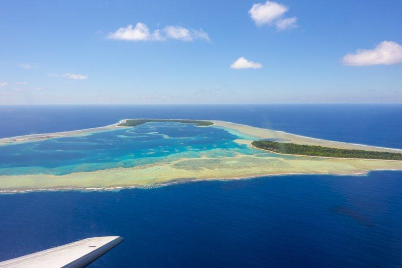 IslandAwe Pukapuka from Above