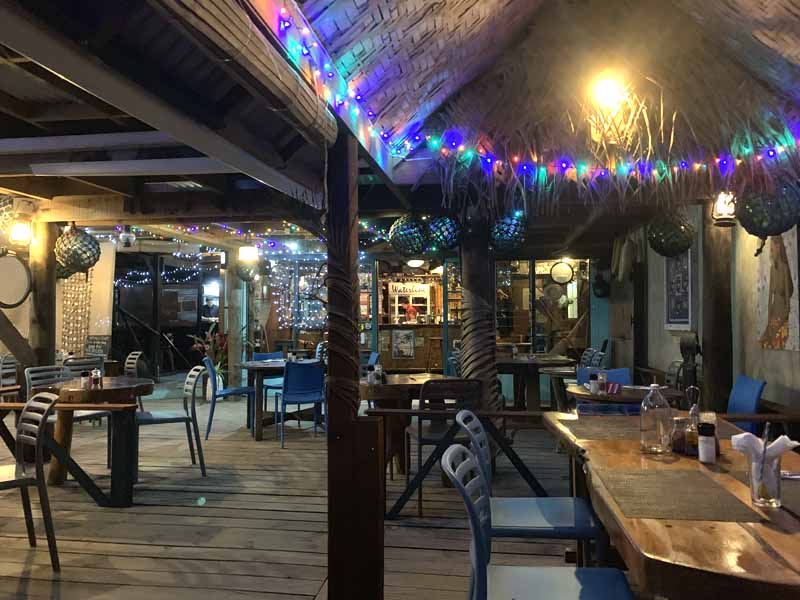 IslandAwe Waterline Restaurant evening