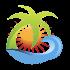 Palm Sun Waves